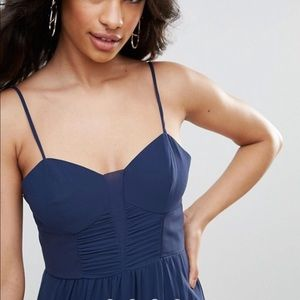 BCBG Navy Maxi Dress